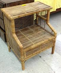rattan bedside tables rattan bedside tables wicker table and
