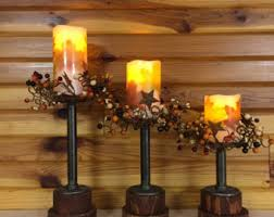 pipe candle set etsy
