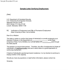 proof of employment reference letter example resume acierta us