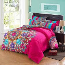 aqua ruffle comforter pink comforter sets queen size hot aqua purple and orange colorful