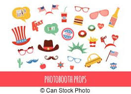 Halloween Photo Booth Props Vectors Illustration Of Halloween Photo Booth Props Accessories