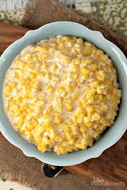 crock pot cheddar creamed corn julie s eats treats
