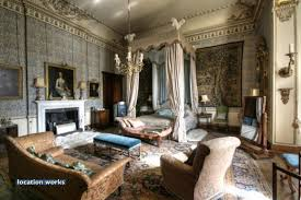 Belvoir Castle Interior Tapestry Bedroom Belvoir Castle The Bed Was Made For The Film