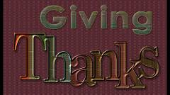 the importance of giving thanks charismatica