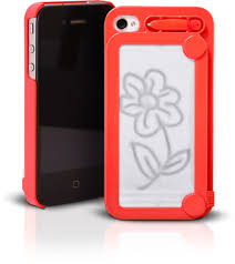 doodle on your iphone case oh snap its an etch a sketch and a