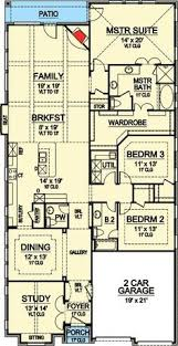 home plans for narrow lot narrow lot roomy feel hwbdo75757 tidewater house plan from