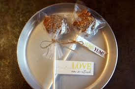 smores wedding favors s mores favors san diego wedding officiant