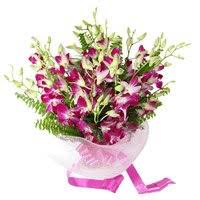 Orchid Bouquet Hyderabad Flower Delivery Flowers To Hyderabad Orchids Bouquet