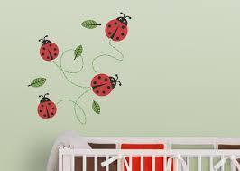 ladybugs nursery wall decal ladybug wall decal ladybug decal
