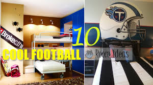themed rooms ideas cool boys football room ideas
