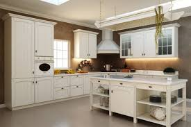 retro kitchen design ideas l shaped cream finish mahogany kitchen