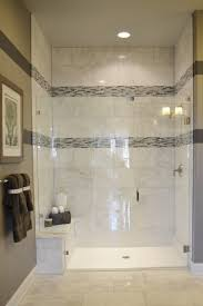 tile shower and tub ideas black carved wooden wall storage