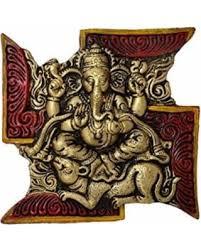 Indian Wedding Gift Spectacular Deal On Colorful Red Ganesh Ganesha Ganesha On