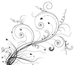 freebie release 5 floral ornaments vector brushes