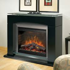 wood electric fireplace with mantel making electric fireplace