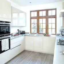 Small U Shaped Kitchen With Island Small U Shaped Kitchen Design Ideas L Layout With Island