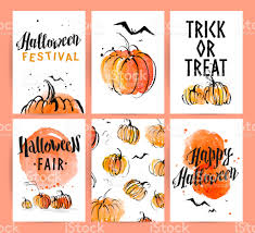 halloween background flyer halloween watercolor hand drawn artistic advertisement design