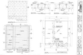 foundation u0026 roof plans detailed modifiable complete sets