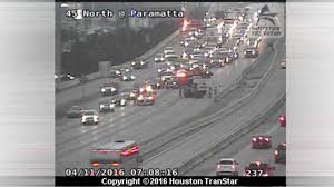 Houston Transtar Traffic Map North Freeway Now Open Northbound At Fm 1960 After Rollover Crash