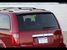 2005 dodge grand caravan tail light assembly chrysler town country dodge grand caravan 2008 2013 high mount break
