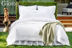 Sferra Duvet Cover Sferra Giotto Sateen Bed Linens Plumeria Bay