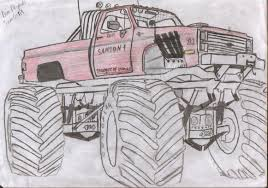 monster truck drawings thread monster mayhem discussion board