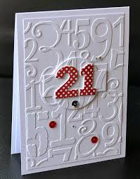 260 best cards by number images on pinterest birthday cards