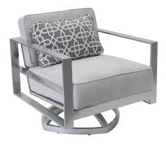 sunnyland patio furniture horizons cushion club swivel chair by