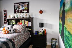bolling with 5 tyson s nfl college football preteen bedroom after mounds and mounds of searches a few purchases and then returns we centered his room around the nfl sheet set that we purchased at pottery barn teen