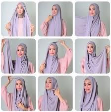 tutorial hijab syar i untuk pengantin 10 best cara pakai shawl tudung labuh yang cantik dan tutup
