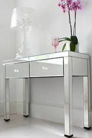 wood and mirrored console table furniture console table with drawers mirrored console table with
