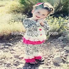 newest little girls western wear christmas casual wear