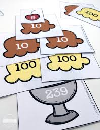 place value for 2nd grade place value sundae activity