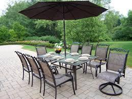 Outdoor Patio Dining by Patio 16 Patio Dining Set With Umbrella 178 Outdoor Patio
