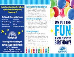 trampoline invitations central coast gymnastics brochure u0026 invitation