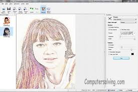 convert your photos into drawings with sketch drawer u2013 computer