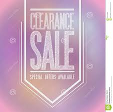 pink lights clearance sale poster sign banner royalty free stock