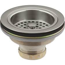 best sink stopper strainer kohler duostrainer basket strainer assembly with stopper r8799 c