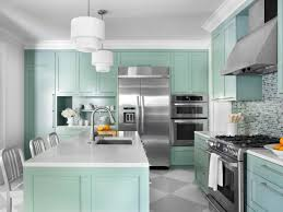 painting my kitchen cabinets blue color ideas for painting kitchen cabinets hgtv pictures hgtv