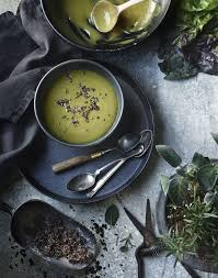 tami cuisine spinach soup food styling tami hardeman photo greg dupree prop