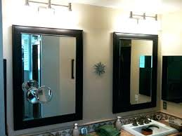 Battery Operated Bathroom Mirrors Battery Operated Bathroom Mirror Northlight Co