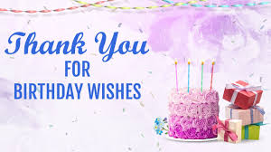 thank you for birthday wishes status message quotes
