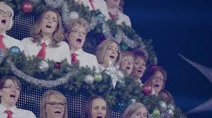 edmonton singing christmas tree 2016 highlight youtube
