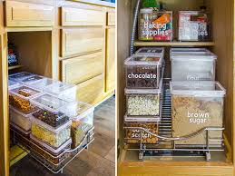 best way to organise kitchen food cupboards organizing baking supplies small stuff counts