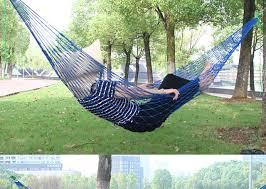 1pc sleeping hammock portable garden outdoor camping travel