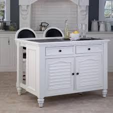 furniture cool white movable kitchen islands with barstools and