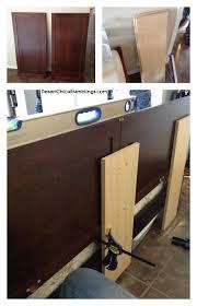 cabinet door diy headboard