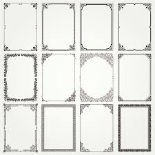 vintage frames ornaments vector set 02 vector frames borders