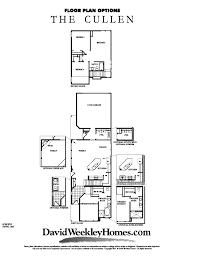 Beazer Floor Plans David Weekley Homes Cullen Floor Plan 1 927 Sq Ft Viridian