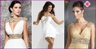 Greek Style Wedding Dresses Wedding Dress Greek Style Short Overview Of Popular Models Photos